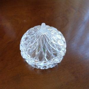 Godinger Accents - Godinger Hershey Kisses Crystal Kiss Candy Dish